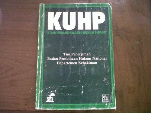 Pidana kitab undang-undang pdf hukum
